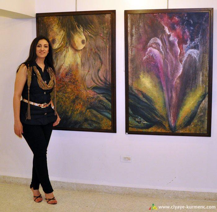 الفنانة التشكيلية سمر دريعي