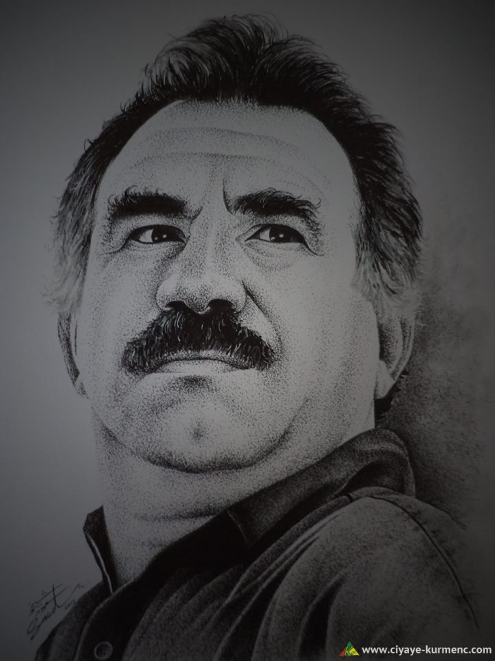 القائد الكردي عبد الله آوجلان - آبو