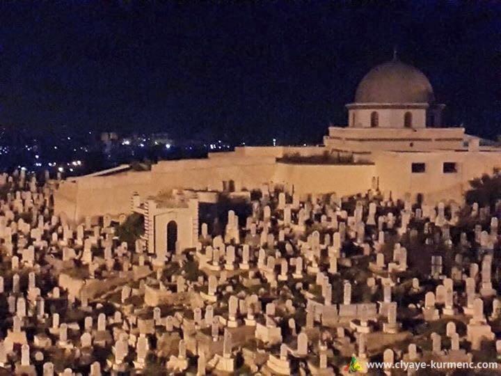 مقام الشيخ خالد - ركن الدين - دمشق - حيث يوم قبر الامير جلادت بدرخان