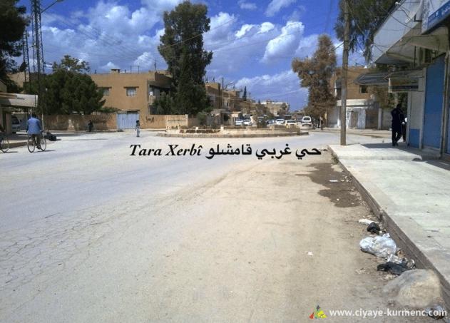 قامشلو الحي الغربي