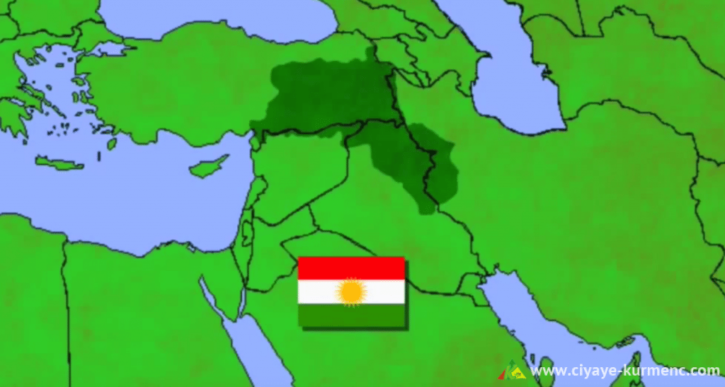 خريطة كوردستان