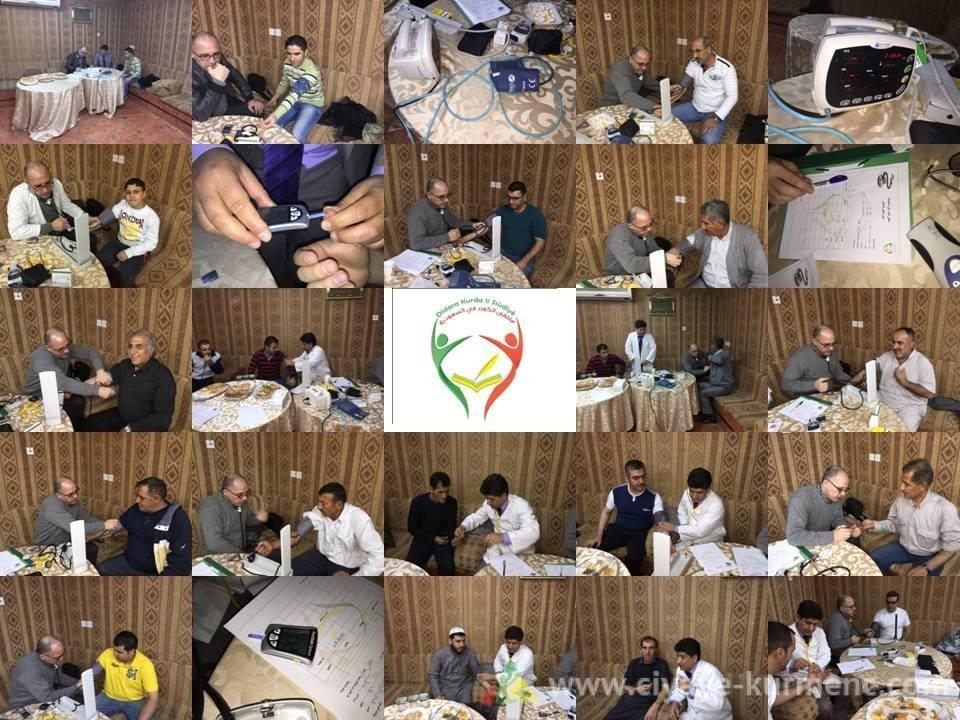 في اليوم الطبي للملتقى والحمد لله المستوى الصحي كان ممتازا لجميع الاعضاء