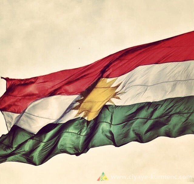 الوان العلم الكردي