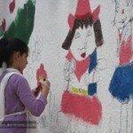 منقدر ..نلون الحياة / ورشة فنية في عفرين 98