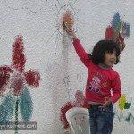 منقدر ..نلون الحياة / ورشة فنية في عفرين 10