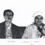 مصطفى البارزاني و الشهيد كمال جنبلاط