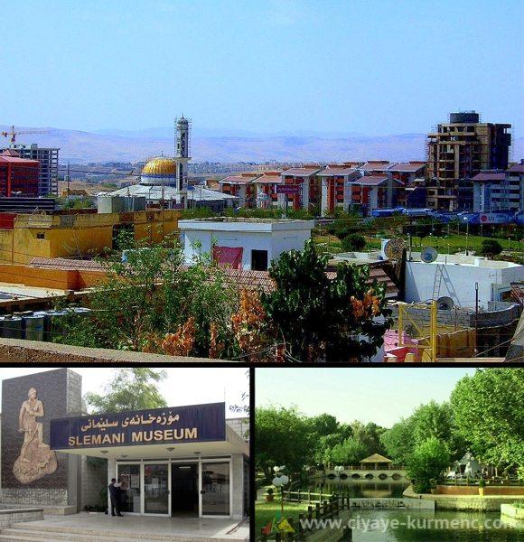 مدينة السليمانية كردستان العراق