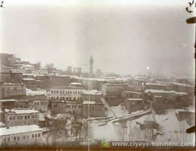 مدينة - موش -. وتعود تاريخ الصورة لعام 1910.
