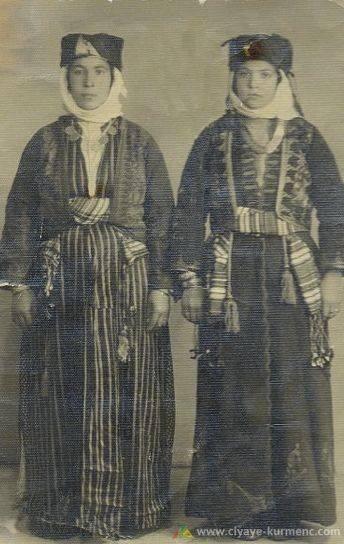 صورة إمرأتين كرديتين من أناضول الوسطى
