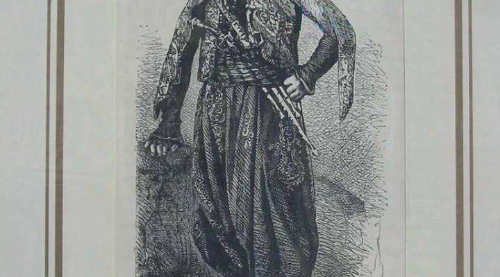 صورة لـأمير كوردي من العهد العثماني