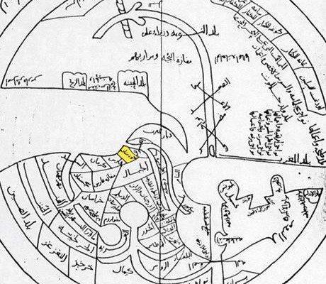 خريطة كردستان من القرن 10 م