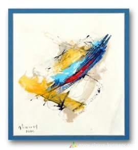الفنان التشكيلي الكردي علي مراد