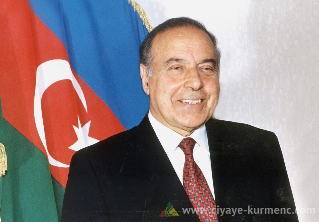 الرئيس الآذربيجاني الراحل - حيدر علييف
