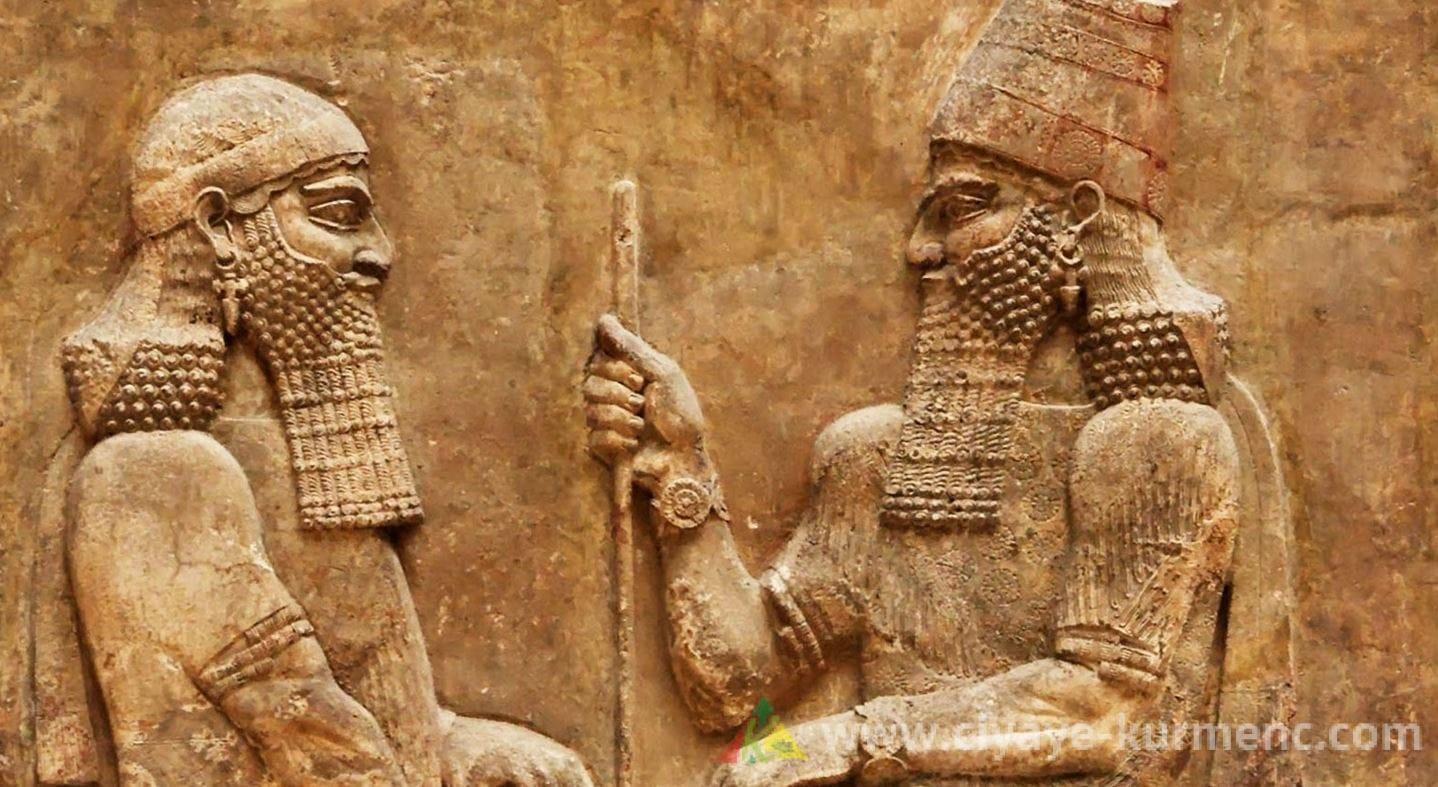 الحضارة السومرية وعلاقتهم بالكورد . 1