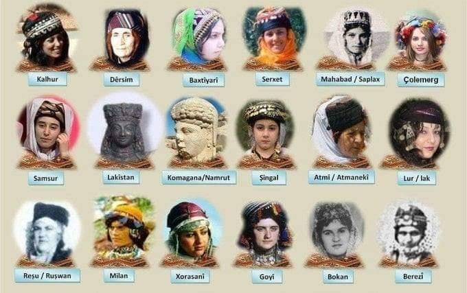 الزيّ الكردي 1